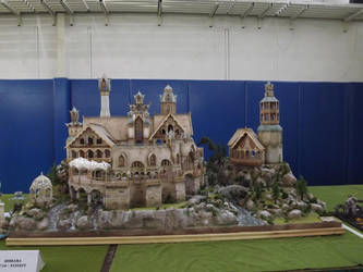 Elrond diorama 3 NOT MINE by ravenoo