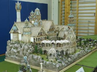 Elrond diorama 1 by ravenoo