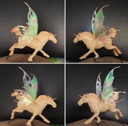 Sculpey fae horse 3 by ravenoo