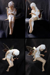 Unfinished unpainted FIMO Fairy sculpey by ravenoo