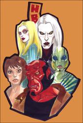 Hellboy II: The Golden Army by CanCerX