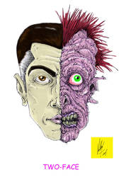 TWO-FACE by CanCerX