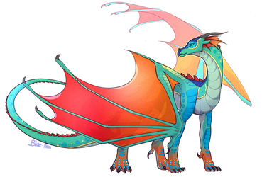 Glory [Wings of Fire] by eagleclaw6089