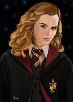 Hermione fan art by IcedEdge