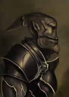 Monster warrior by IcedEdge
