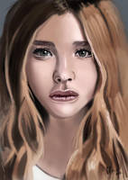 Chloe Moretz by IcedEdge