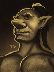 Proud Goblin by IcedEdge
