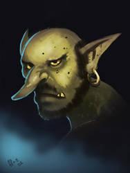 Goblin warm up by IcedEdge