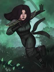 Forest Ninja by IcedEdge