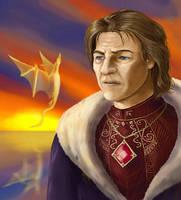 Dragonborn, Martin Septim by MaevesChild