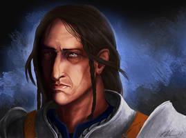 Warden Loghain by MaevesChild