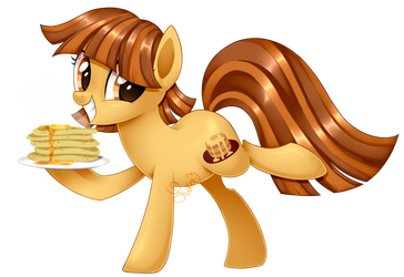 AT: Pancakes by Azure-Art-Wave