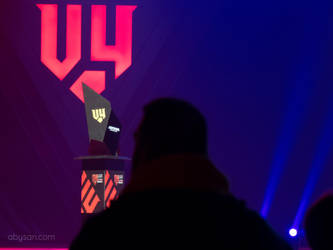 The trophy - V4 Esport Future Sport Festival by abysan