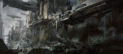 The Steel Reach by GG-arts