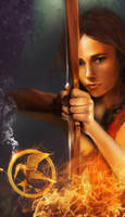 The Girl Who Was On Fire by elbarien