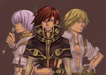 ro 3 heroes by M0T0