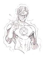 Hal Jordan by dogsup
