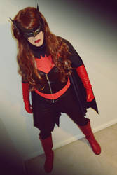 Batwoman Cosplay Photostory Ch12 The Visit by ozbattlechick
