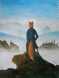 Wanderer above the Sea of Fog by Roborak