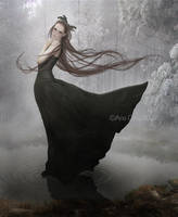 Black winter day by LuneBleu