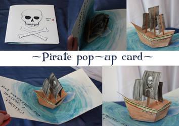 Pop-up Pirateship by XxMortanixX
