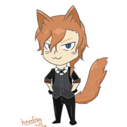 *Chuuya voice* Meow by hmmfrog