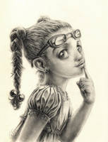 Pretty Lady by auxeru
