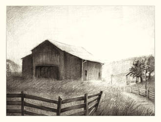 Barn and Shed by auxeru
