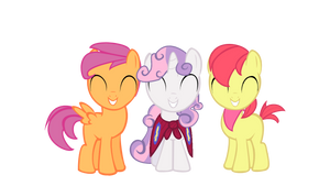 Cutie Mark Cusaders: Genderswapped by TouhouBrony
