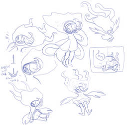 villi sketches by Spoonfayse