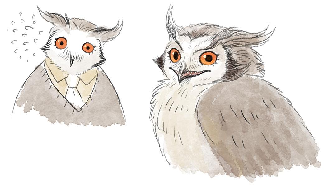 owl dad by Spoonfayse