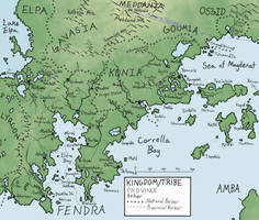 Map of the Greater Fendra Area, Year 1366 by FieldsOfFire