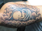 memorial tattoo by dannewsome