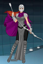 Lady Shredder, Shredder's Girlfriend by sportacusgirl