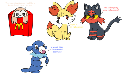 The problems with the Alola Starters by DrewTheRedPoochyena