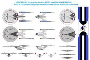 Imperial Class Starship U.S.S. Eternity NCC-20002 by Daleduc