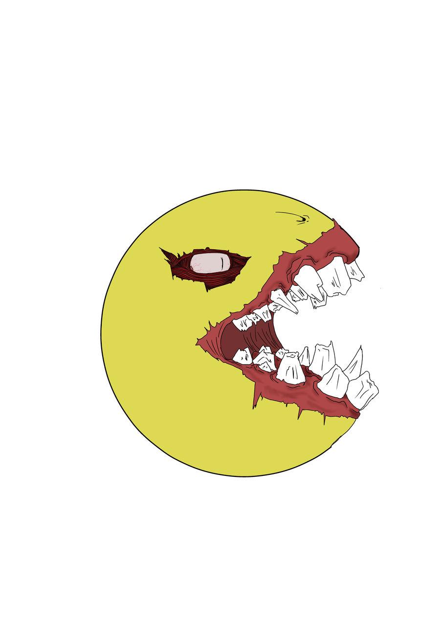 Zalgo-Pacman v1 by Monztruo