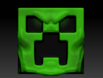 Angry Creeper by Monztruo