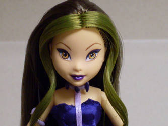 Winx Club Darcy Witch OOAK Closeup by Nightfall26