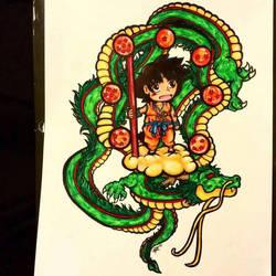 DBZ - Goku by x-Forgotten-One-x