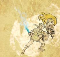 Bane's Blue Flame by Mudora