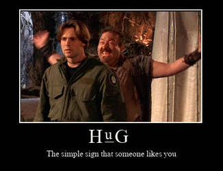 HUG by Space-S-Monkey