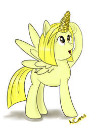 Annelicorn! (inspired by Babble With Bronies 100) by Cwossie