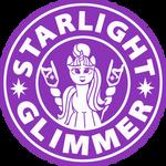 Starlight Glimmer Coffee - Starbucks logo parody by Cwossie