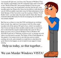 Destroyed by Windows Vista by Pokelord-EX