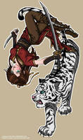 Tigress color by Osho-Zena