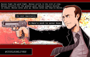 Heroes Don't Die- Agent Phil Coulson by Saturn-Kitty