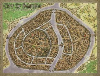 Daboha Citymap by Djekspek