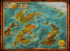 Worldmap by Djekspek