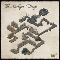 ISO Dungeon Map by Djekspek